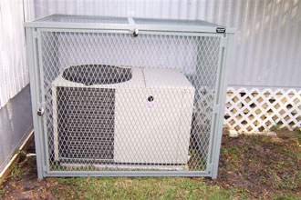 Air Condition Unit Security Cage